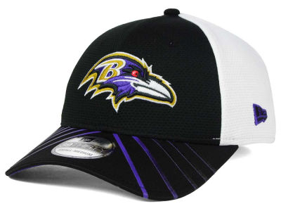 Baltimore Ravens New Era NFL Fade Back Mesh 39THIRTY Cap