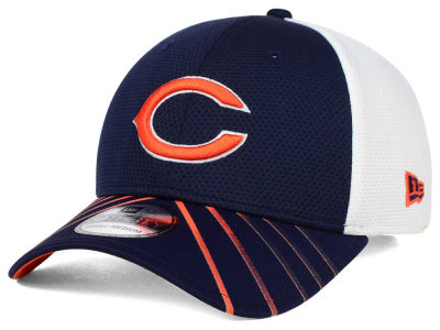 Chicago Bears New Era NFL Fade Back Mesh 39THIRTY Cap