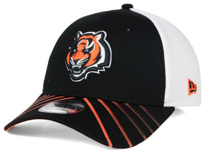 Cincinnati Bengals New Era NFL Fade Back Mesh 39THIRTY Cap