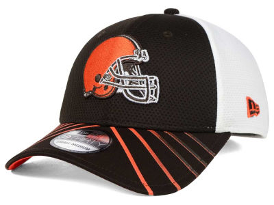 Cleveland Browns New Era NFL Fade Back Mesh 39THIRTY Cap
