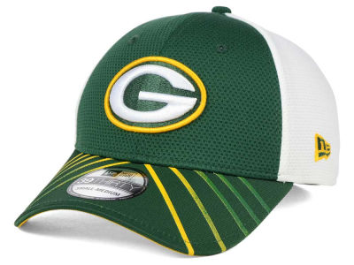 Green Bay Packers New Era NFL Fade Back Mesh 39THIRTY Cap