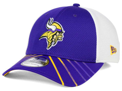 Minnesota Vikings New Era NFL Fade Back Mesh 39THIRTY Cap