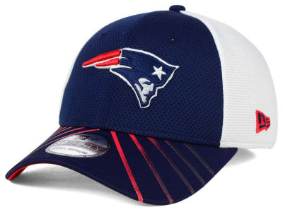 New England Patriots New Era NFL Fade Back Mesh 39THIRTY Cap