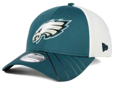 Philadelphia Eagles New Era NFL Fade Back Mesh 39THIRTY Cap