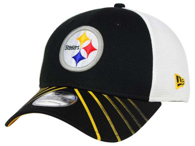 Pittsburgh Steelers New Era NFL Fade Back Mesh 39THIRTY Cap