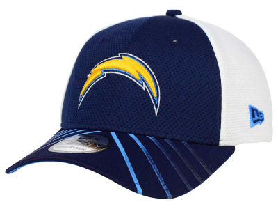 San Diego Chargers New Era NFL Fade Back Mesh 39THIRTY Cap