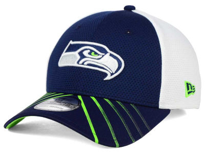 Seattle Seahawks New Era NFL Fade Back Mesh 39THIRTY Cap