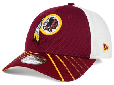 Washington Redskins New Era NFL Fade Back Mesh 39THIRTY Cap