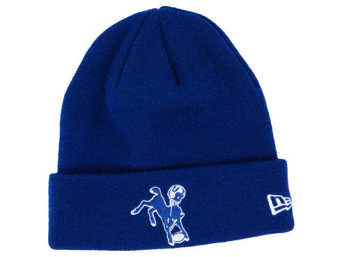a75de4e8474 Indianapolis Colts New Era NFL Basic Cuff Knit