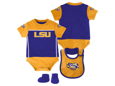 LSU Tigers adidas NCAA Infant Lil Jersey Set