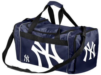 New York Yankees Striped Core Duffle Bag