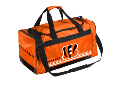 Cincinnati Bengals Striped Core Duffle Bag
