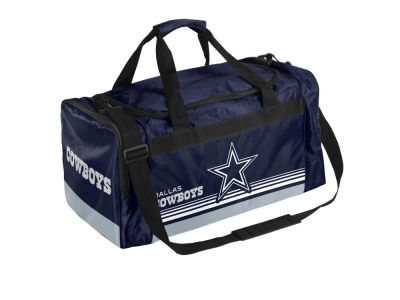 Dallas Cowboys Striped Core Duffle Bag