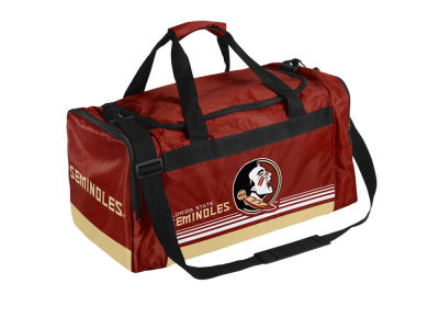 Florida State Seminoles Striped Core Duffle Bag