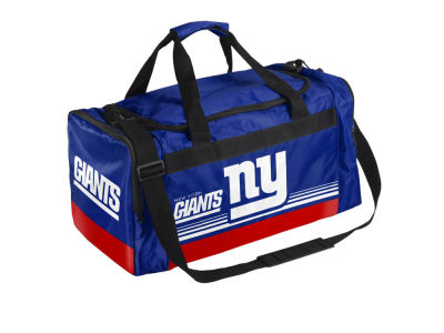 New York Giants Striped Core Duffle Bag
