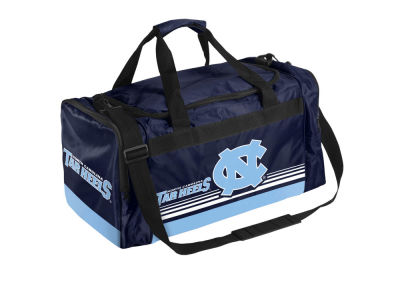 North Carolina Tar Heels Striped Core Duffle Bag