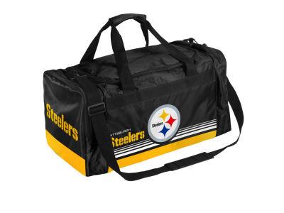 Pittsburgh Steelers Striped Core Duffle Bag