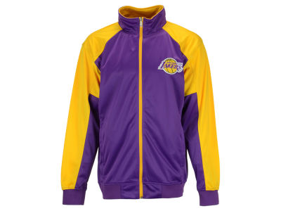Los Angeles Lakers NBA Men's Geo Track Jacket