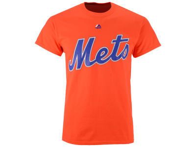 New York Mets Majestic MLB Men's Official Wordmark T-Shirt