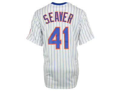 New York Mets Tom Seaver Majestic MLB Men's Cooperstown Player Replica CB Jersey