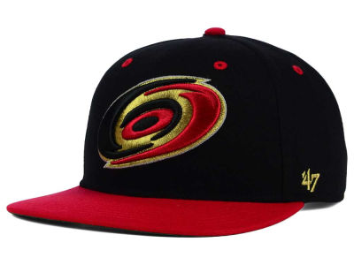 Carolina Hurricanes '47 NHL '47 Gold Rush Snapback Cap
