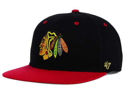 Chicago Blackhawks '47 NHL '47 Gold Rush Snapback Cap