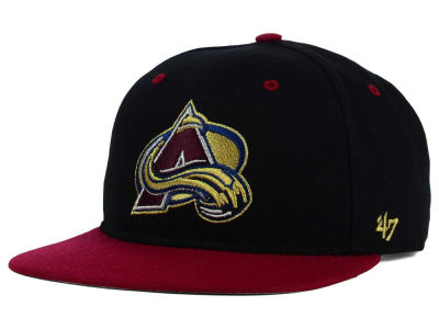 Colorado Avalanche '47 NHL '47 Gold Rush Snapback Cap