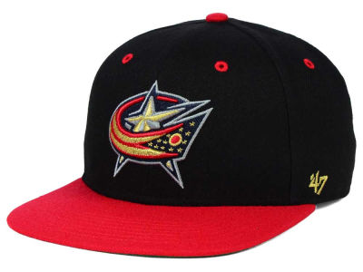 Columbus Blue Jackets '47 NHL '47 Gold Rush Snapback Cap