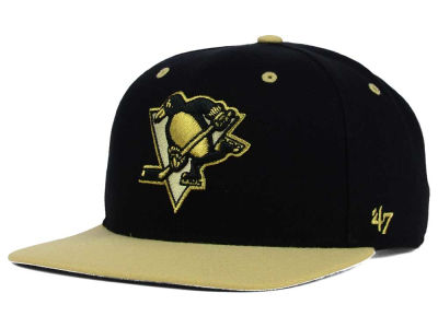 Pittsburgh Penguins '47 NHL '47 Gold Rush Snapback Cap