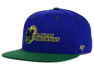 Dallas Mavericks '47 NBA HWC '47 Gold Rush Snapback Cap