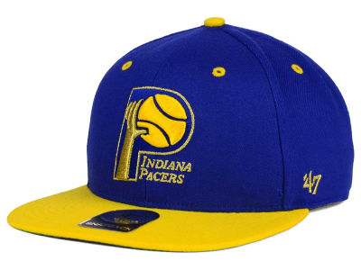 Indiana Pacers '47 NBA HWC '47 Gold Rush Snapback Cap