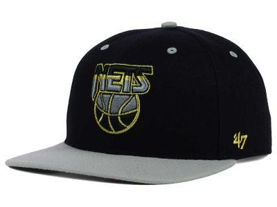New Jersey Nets '47 NBA HWC '47 Gold Rush Snapback Cap