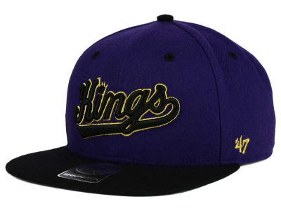 Sacramento Kings '47 NBA HWC '47 Gold Rush Snapback Cap