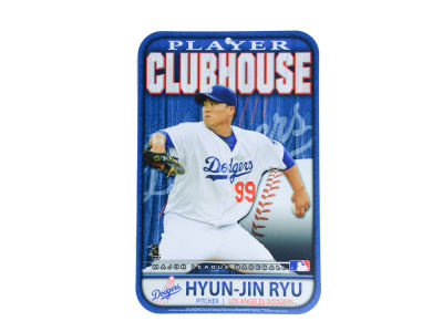 Los Angeles Dodgers Hyun-jin Ryu 11x17 Player Sign