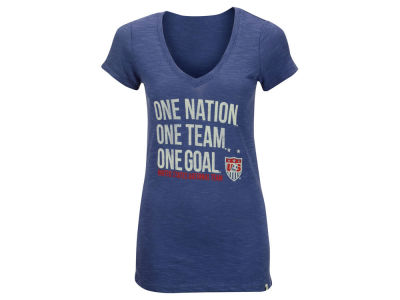 USA '47 National Team Women's One Nation V-Neck Scrum T-Shirt