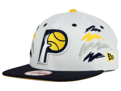 Indiana Pacers New Era NBA HWC Old Cool 9FIFTY Snapback Cap