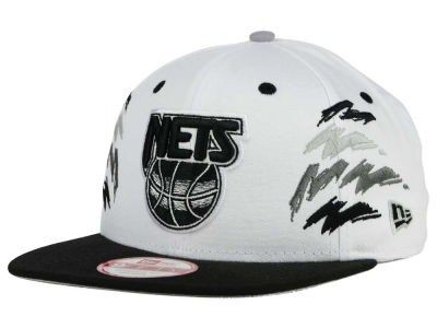 New Jersey Nets New Era NBA HWC Old Cool 9FIFTY Snapback Cap
