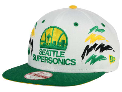 Seattle SuperSonics New Era NBA HWC Old Cool 9FIFTY Snapback Cap