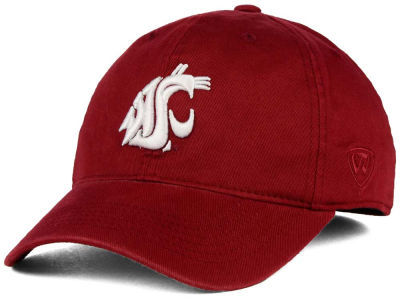 Washington State Cougars Top of the World NCAA Relaxer 2.0 Stretch Hat