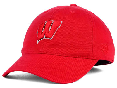 Wisconsin Badgers Top of the World NCAA Relaxer 2.0 Stretch Hat