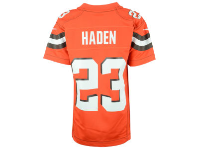Cleveland Browns Joe Haden Nike NFL Youth Game Jersey