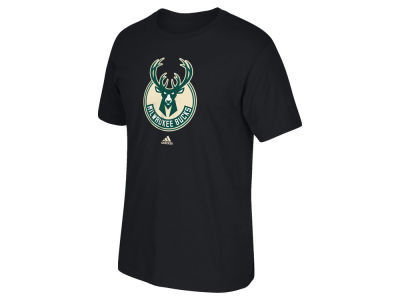Milwaukee Bucks adidas NBA Primary Logo T-Shirt