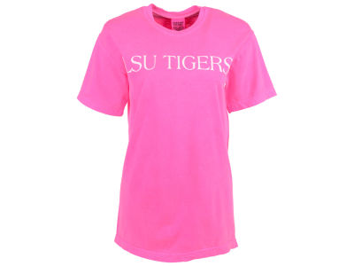 LSU Tigers NCAA Women's Bar Print T-Shirt