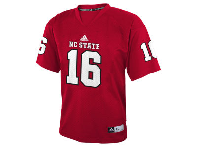 North Carolina State Wolfpack #16 adidas NCAA Toddler Replica Football Jersey