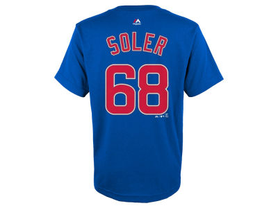 Chicago Cubs Jorge Soler MLB Youth Official Player T-Shirt