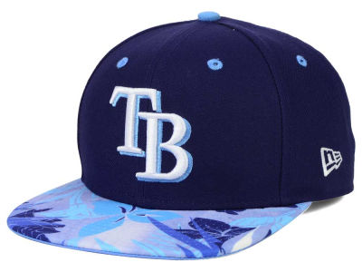 Tampa Bay Rays New Era MLB Floral Viz 9FIFTY Snapback Cap