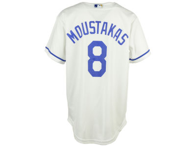 Kansas City Royals Mike Moustakas MLB Youth Player Replica CB Jersey