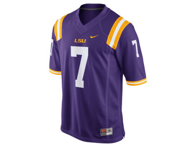 LSU Tigers #7 Nike NCAA Replica Football Game Jersey
