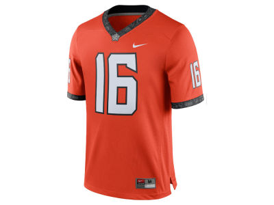 Oklahoma State Cowboys #16 Nike NCAA Replica Football Game Jersey