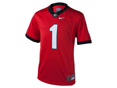 Georgia Bulldogs #1 Nike NCAA Youth Replica Football Game Jersey